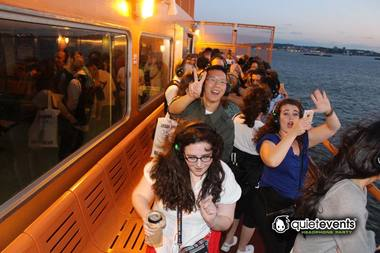 Staten Island Ferry Into Dance Club