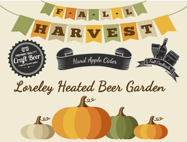 Haunted Outdoor Beer Garden at Loreley