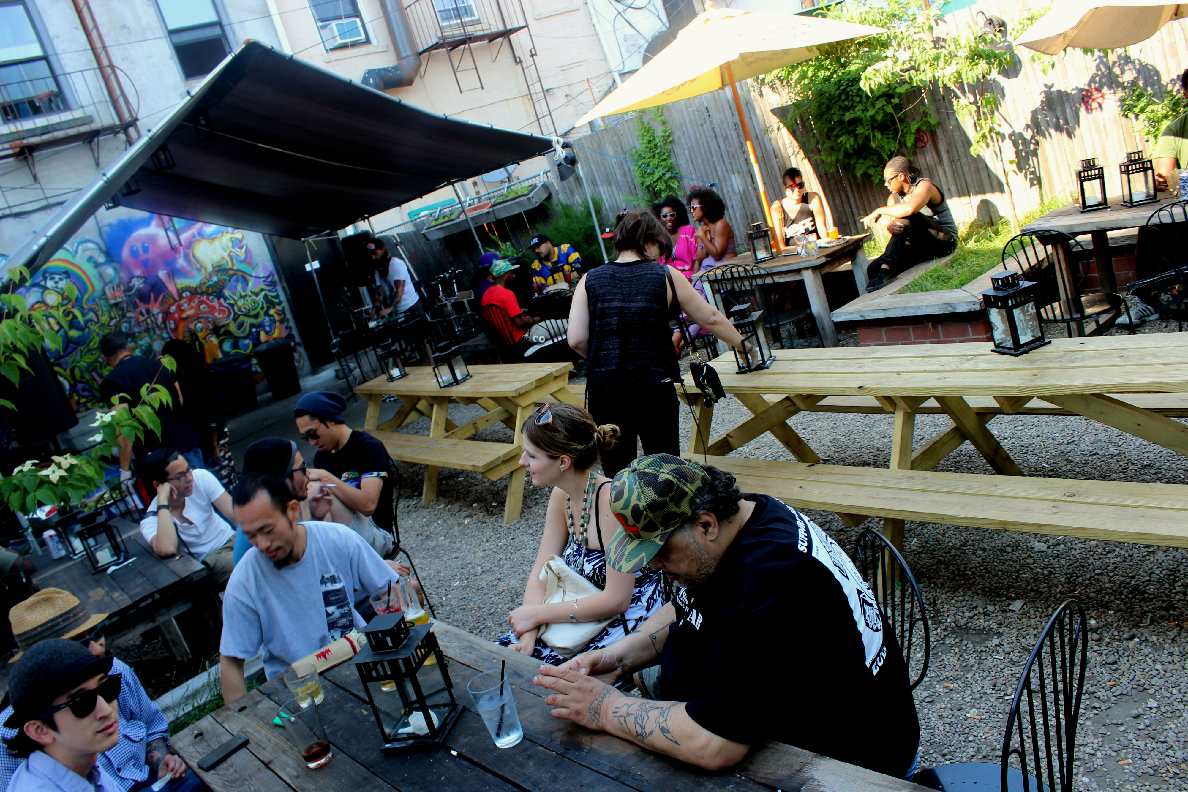 MAP The Best Places to Drink Outdoors in Bed Stuy Bed Stuy