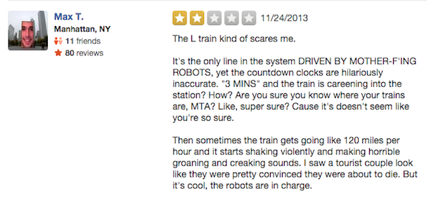 L train ROBOTS