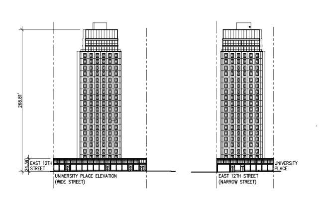 new plans for bowlmor lanes development show design for 23