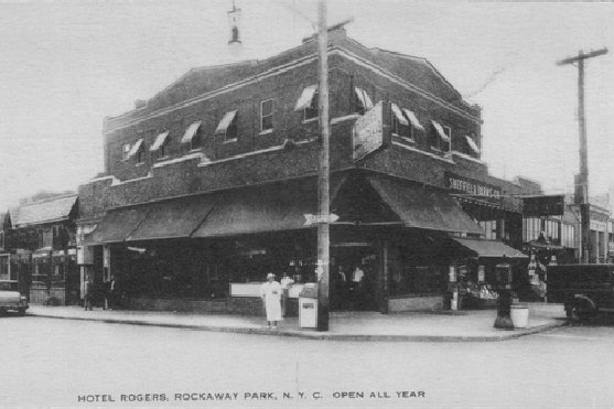 A Postcard Shows The Former Hotel Rogers Old Rockaway Photos