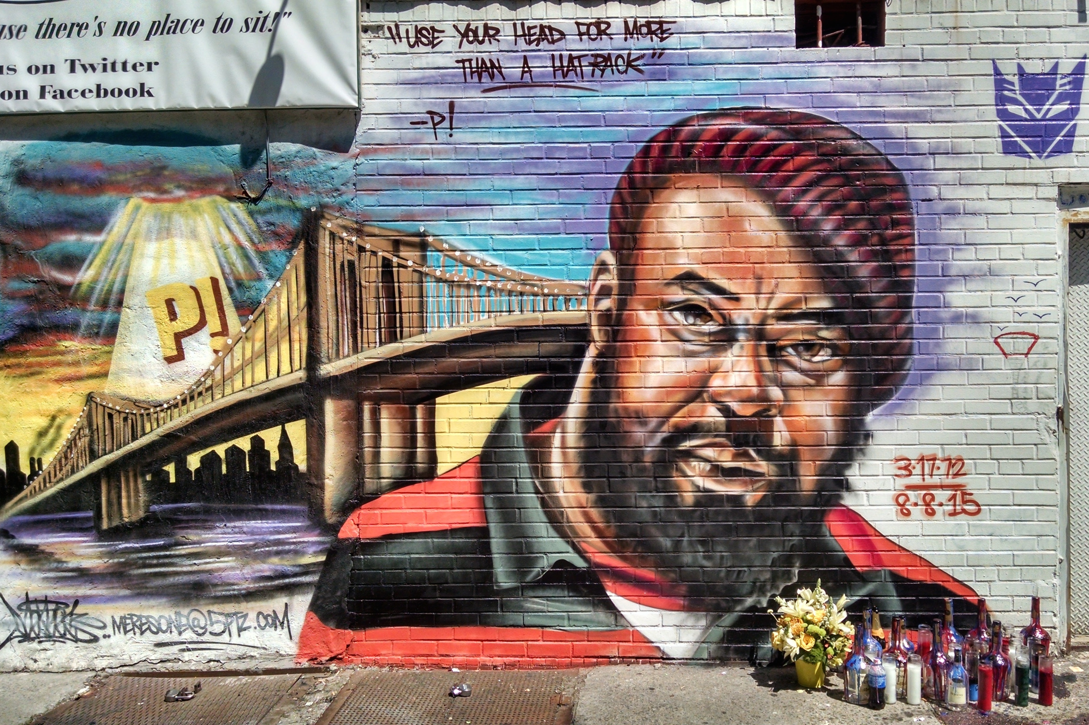 Photos rapper sean price remembered in brooklyn mural for Average cost of a mural
