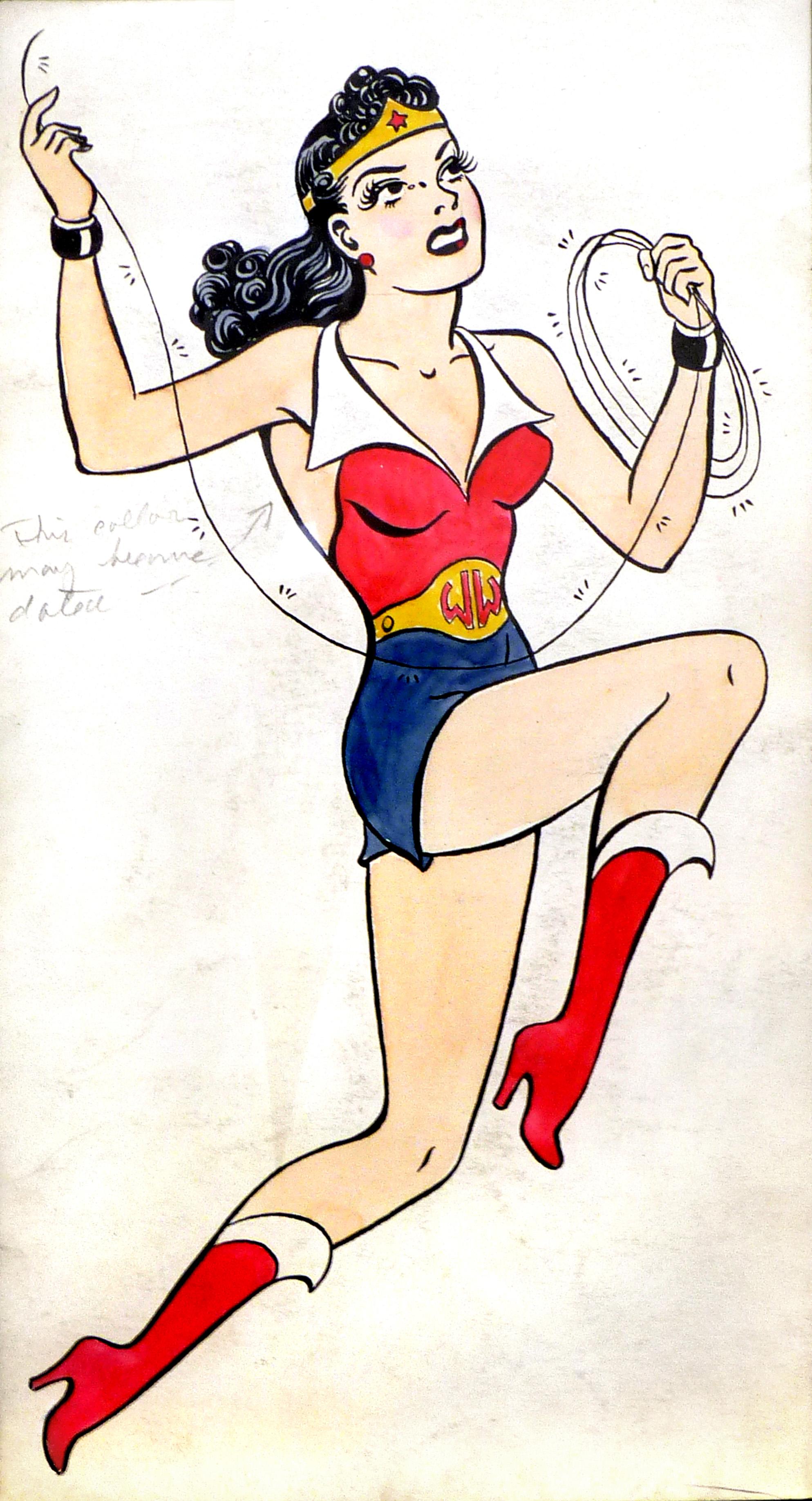 Original Wonder Woman Comic