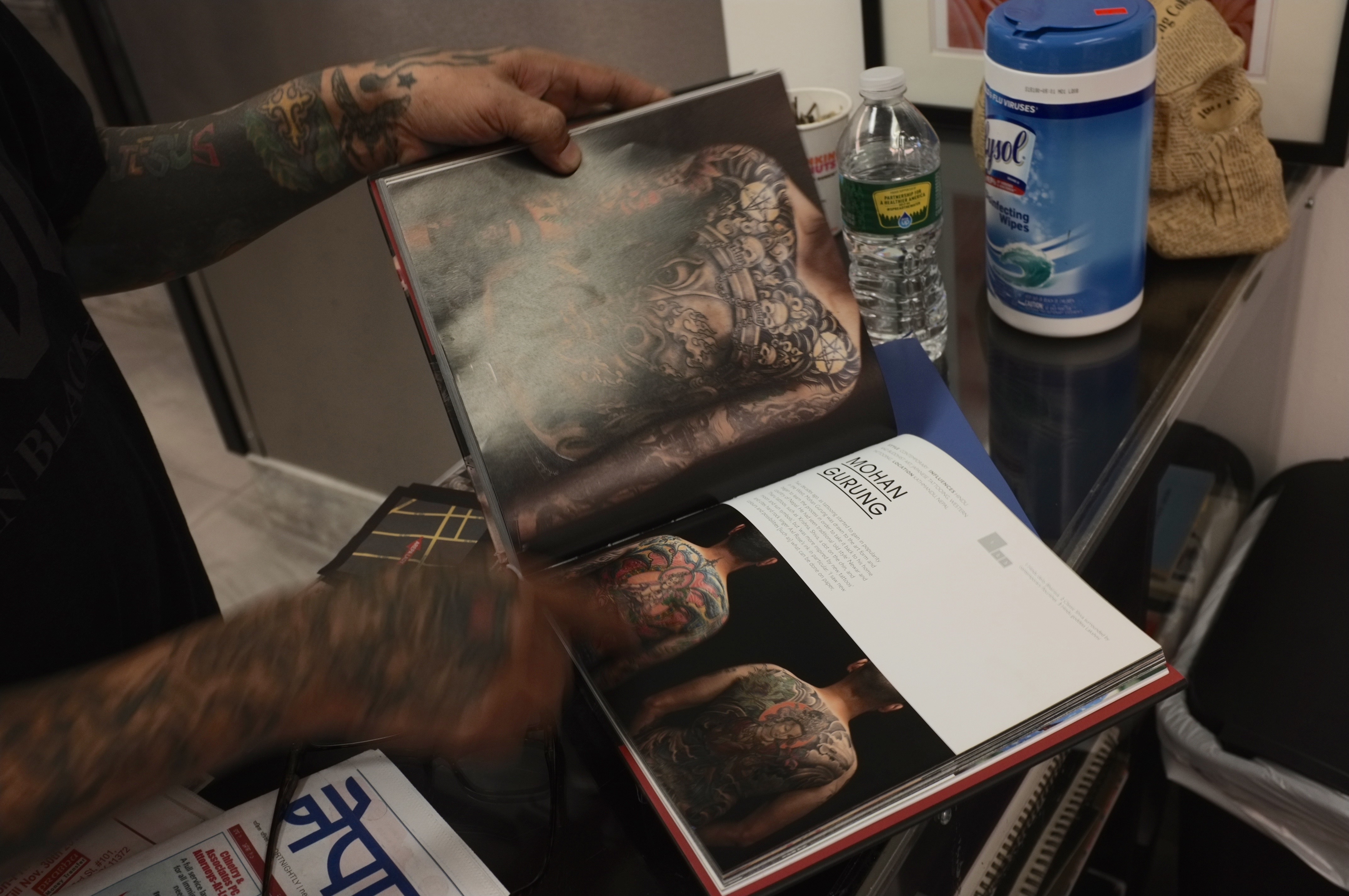 Legendary nepali tattoo artist opens jackson heights shop mohans designed featured in a book about tattoo artists dnainfokatie honan magicingreecefo Image collections