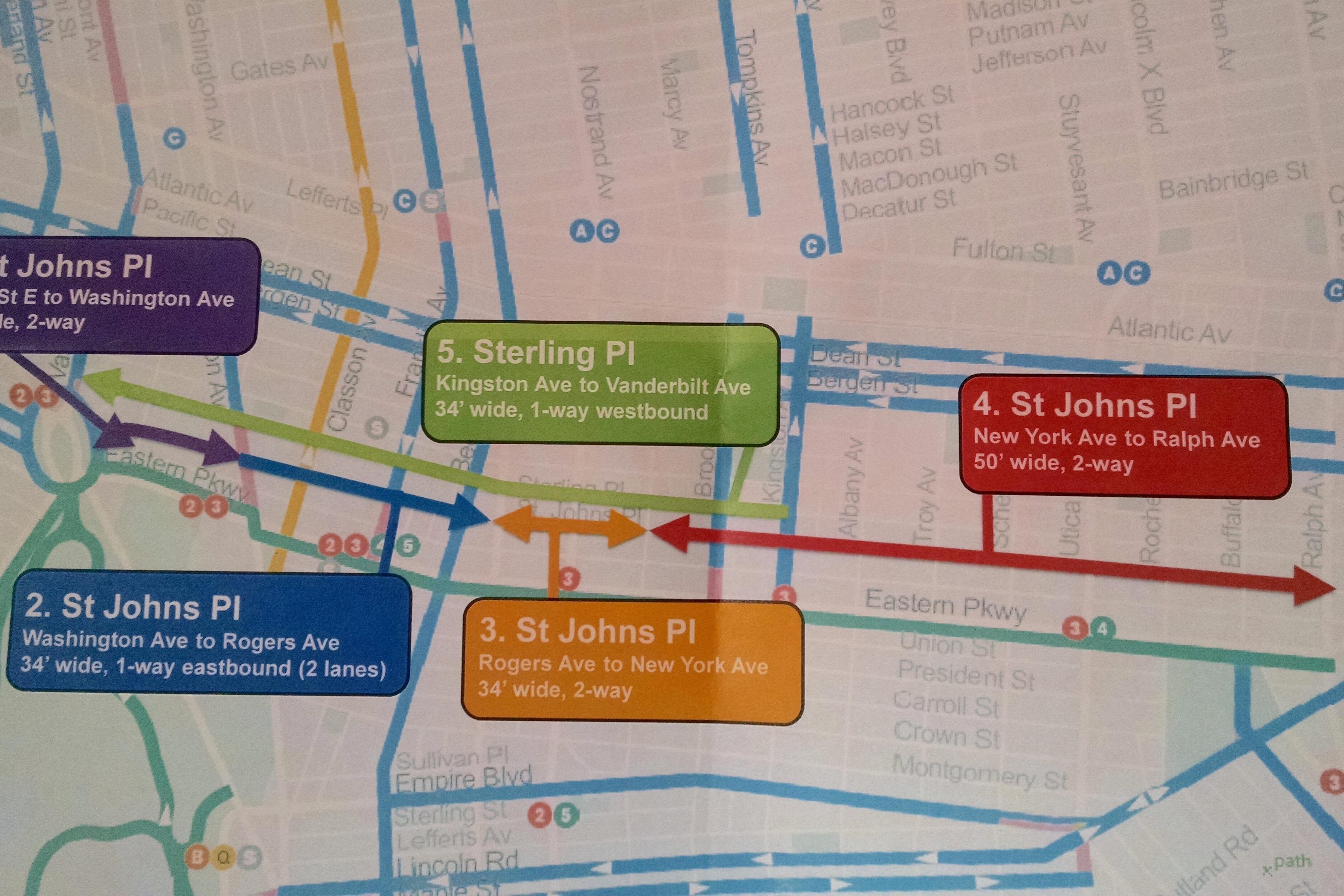 Bike Lanes Proposed On CrashProne Crown Heights Side Streets DOT - Nyc map bike lanes