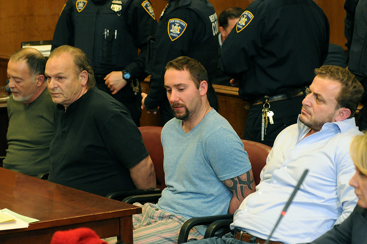 arraignments in connection with East Village Explosion