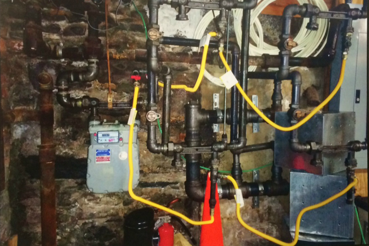 Illegal gas rigging that caused East Village Gas Explosion