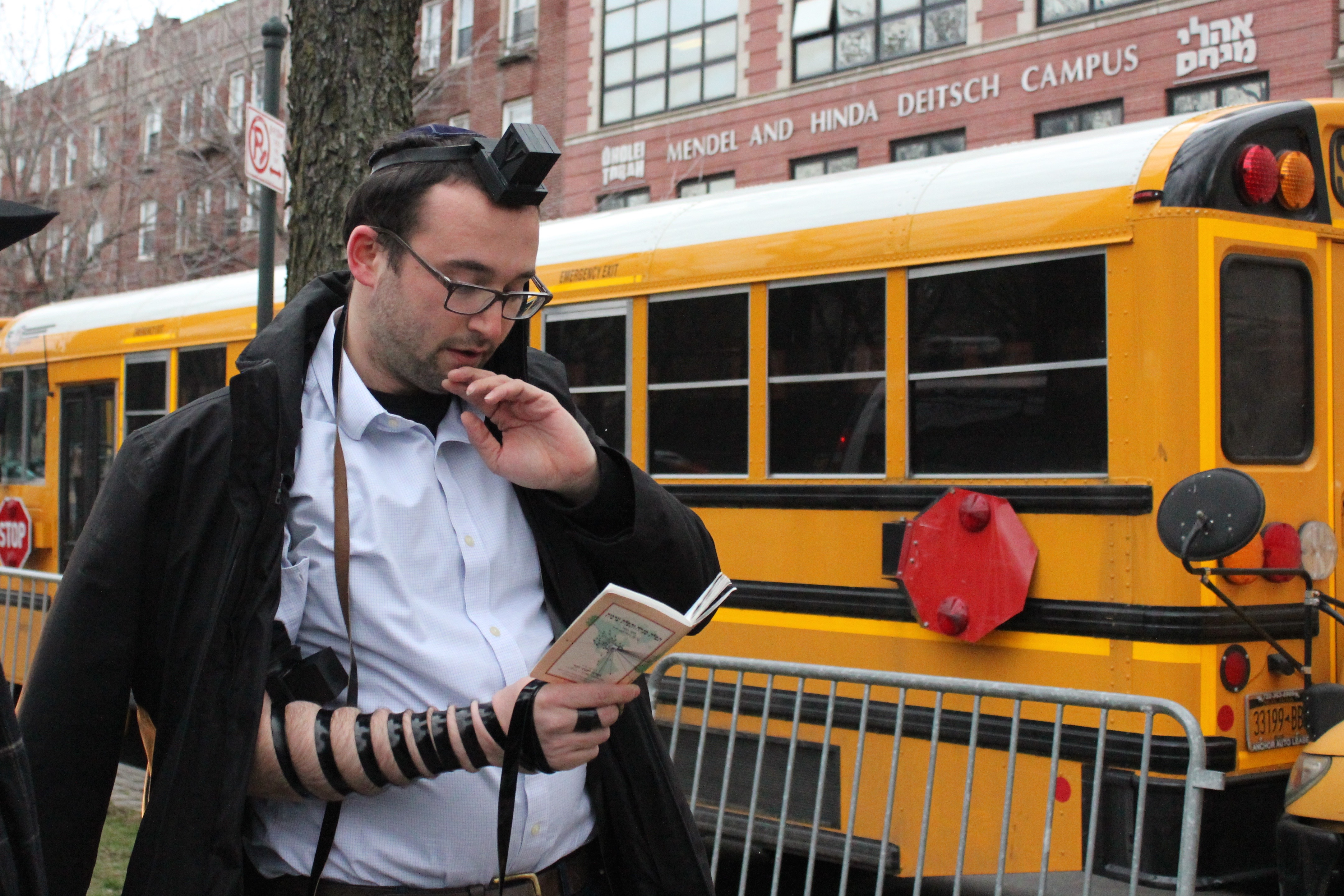 Protesters Decry Abuse Alleged at Crown Heights Yeshiva - Crown