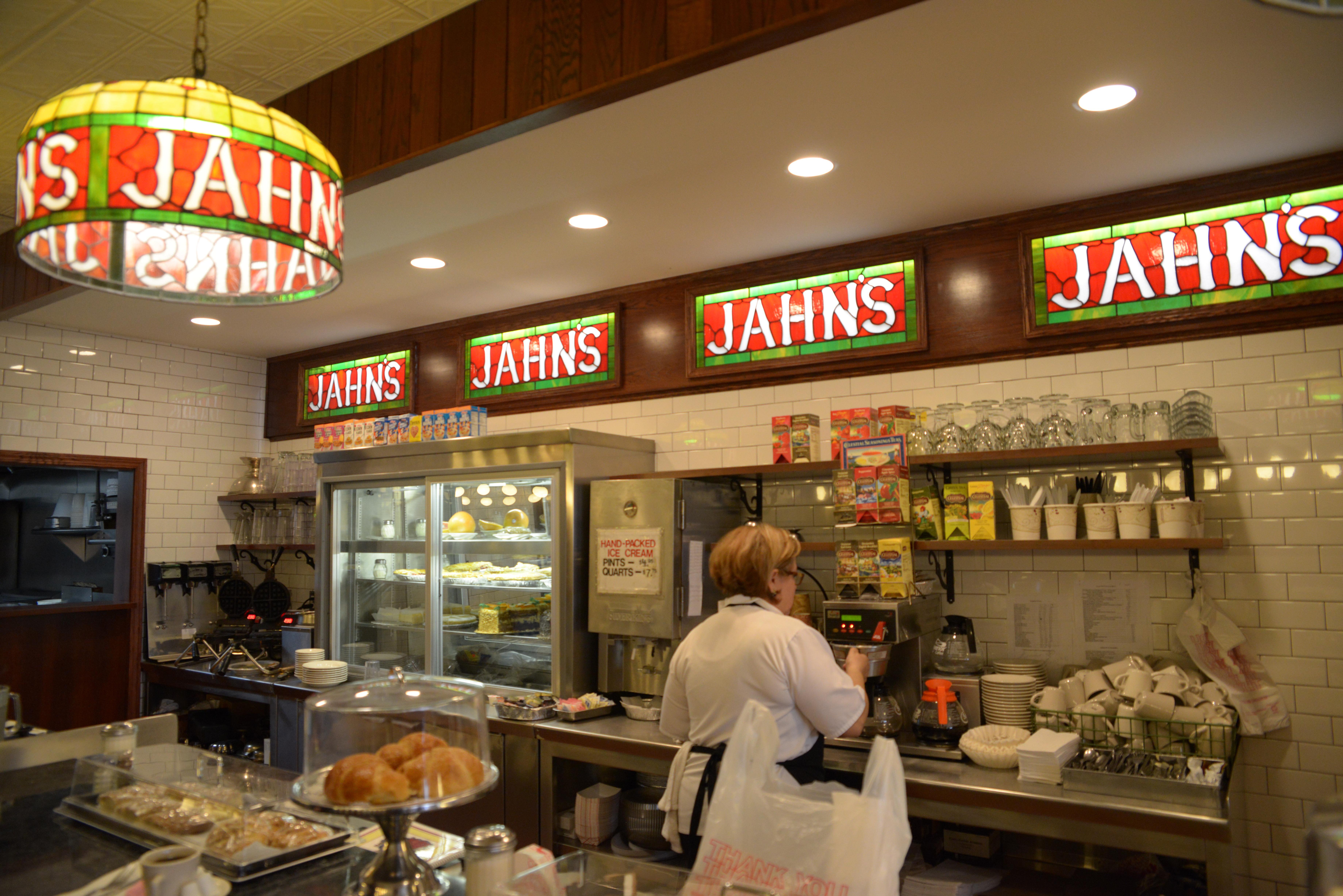 Jahns Ice Cream Parlor The Kitchen Sink