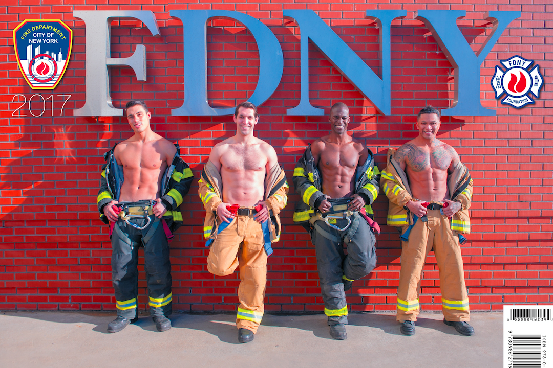 male firefighters