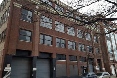 This five-story loft at 57 E. 21st St., formerly used by Yellow Cab, will be converted to studio apartments.
