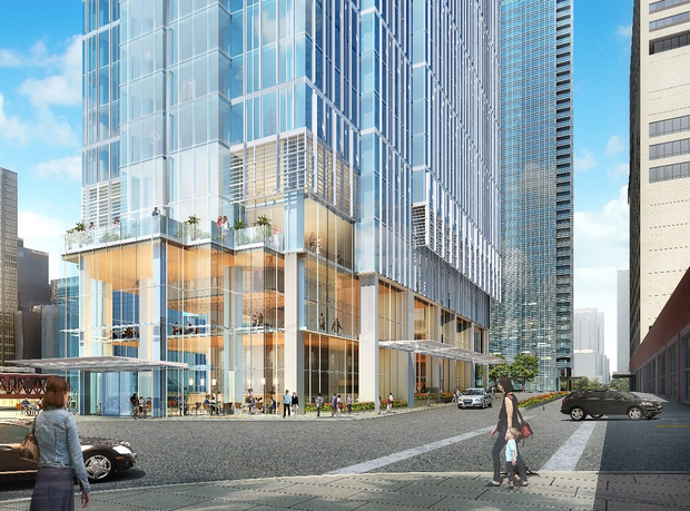 New renderings of the Wolf Point development (Sept. 2016)