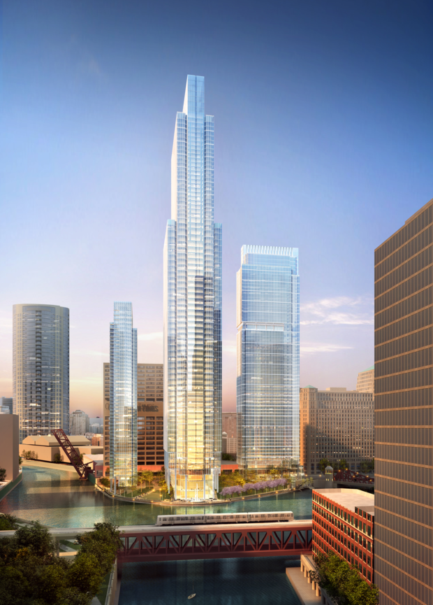 66 Story Tower New Riverwalk Just Some Of The Changes Coming To Wolf Point Downtown Chicago Dnainfo