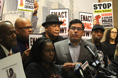 Backed by activist Frank Chapman, Ald. Carlos Ramirez-Rosa calls for his City Council colleagues to consider a real civilian oversight agency.