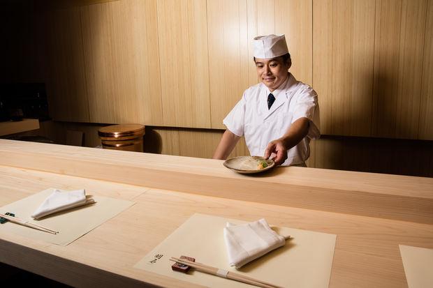 Chef Yoichi Akashi.