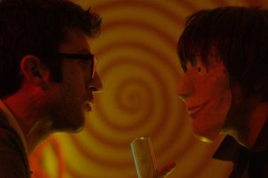 A film still from