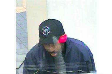 Bandana-Wearing Thief Robs Midtown Bank, NYPD Says ...