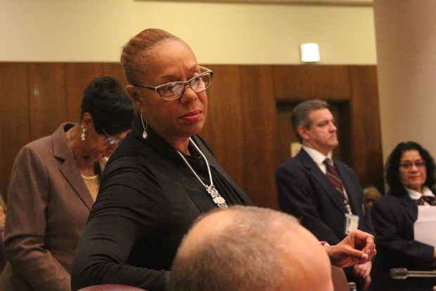 Ald. Leslie Hairston concluded her criticism of the police package by saying,