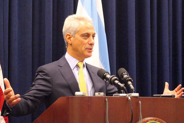 Mayor Rahm Emanuel praised the strengthening of Chicago's Welcoming City Ordinance.