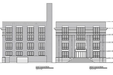 The building at 1630 W. Wilson Ave., would need an upzone for the amount of units proposed.