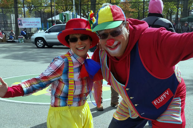 Milton Sheppard, 53, who has been a professional clown for 30 years, said the recent rash of creepy clown sightings has him worried that NYPD officers will stop and question him.
