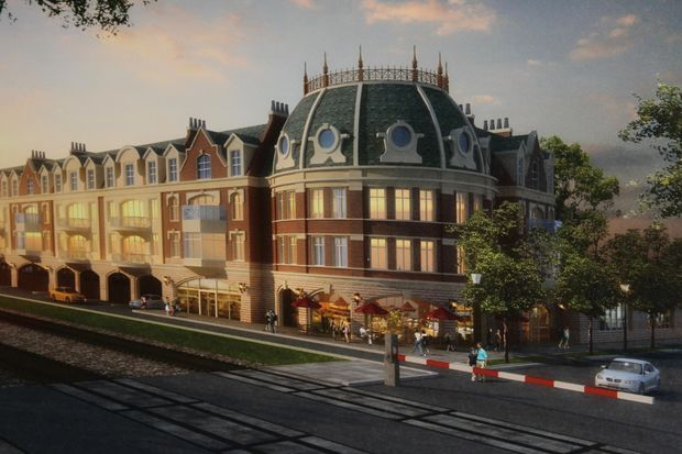 An advisory committee rejected a plan to build condominiums, office space and a parking garage in downtown Edison Park Wednesday.