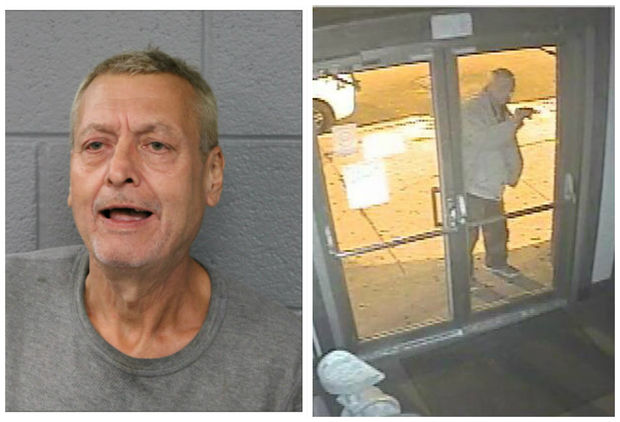 Robert Samar, 60, was charged with defacing a Pilsen church with racist graffiti this week.