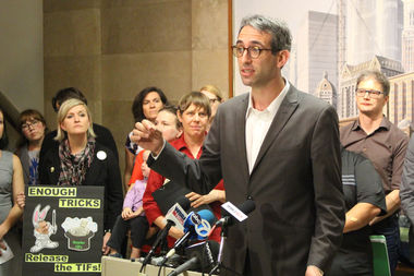 State Rep. Will Guzzardi laid the blame for a possible teacher strike directly at the feet of Mayor Rahm Emanuel.