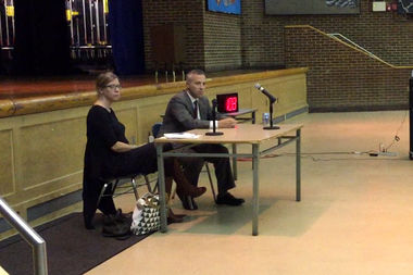 Residents spoke out against the city's Hurricane Sandy recovery at a public hearing Wednesday.