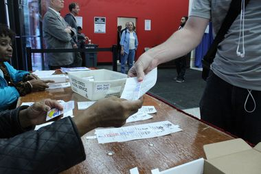 Early voting is already underway in all 50 Chicago Wards.