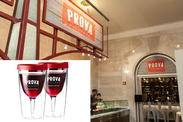 Restaurateur Donatella Arpaia opened her new pizza joint Prova in Grand Central Terminal on Monday.