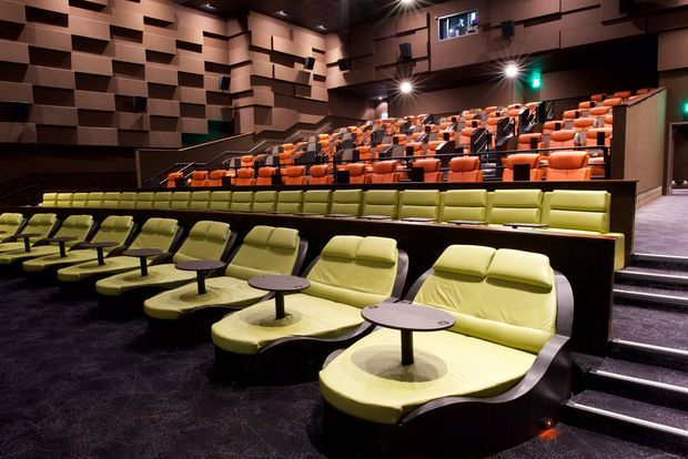 The luxury iPic theater opened this weekend on Fulton Street.