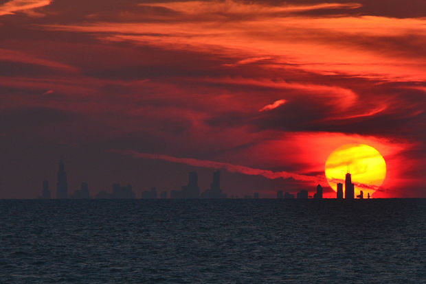 By the end of this century, Chicago could be dealing with three times as many 90-plus-degree days, if not more, according to data analysis.
