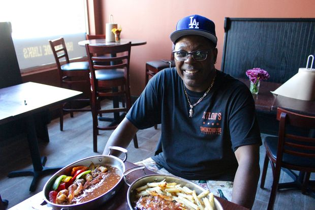 Rylon's Smokehouse, a new barbeque restaurant opening next week at 67 E. Cermak Road.