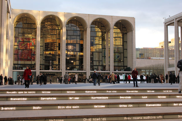 A noose was found in the Metropolitan Opera House Saturday, police said.