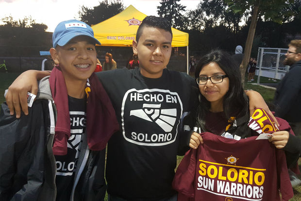 Solorio High School's football program plans to reach out to the Gage Park community.