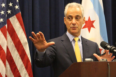Mayor Rahm Emanuel says