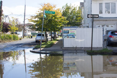 The city is starting to study several measures aimed to help reduce the flooding on Grimsby Avenue.