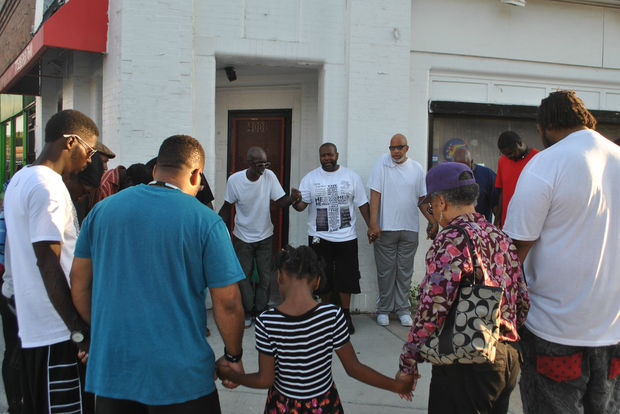 Young Ministers United is a group of former gang rivals who now lead a weekly prayer circle in Garfield Park.
