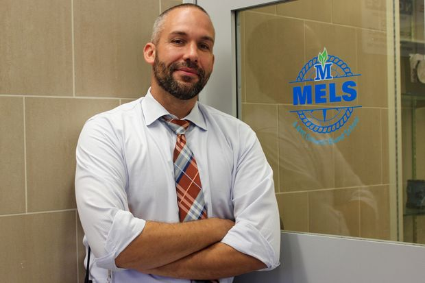 Damon McCord is a co-principal at Metropolitan Expeditionary Learning School.