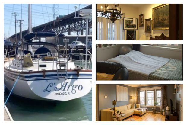 As the Cubs enter the National League Championship Series, fans can check out a host of options on Airbnb, from a house boat to a mansion.