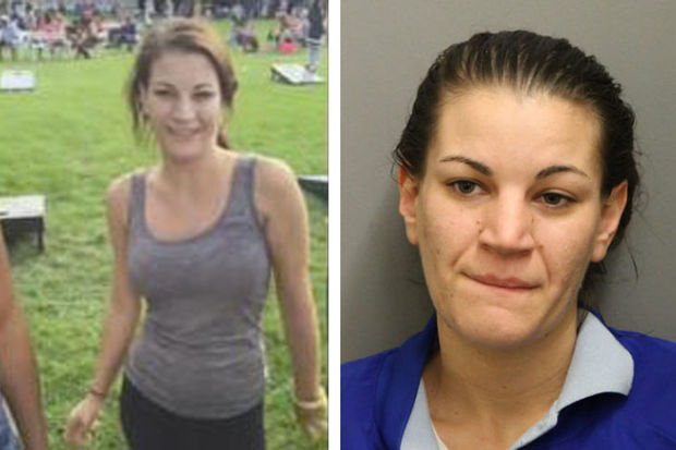 Jessica Sanders, 26, is charged with a hate crime.
