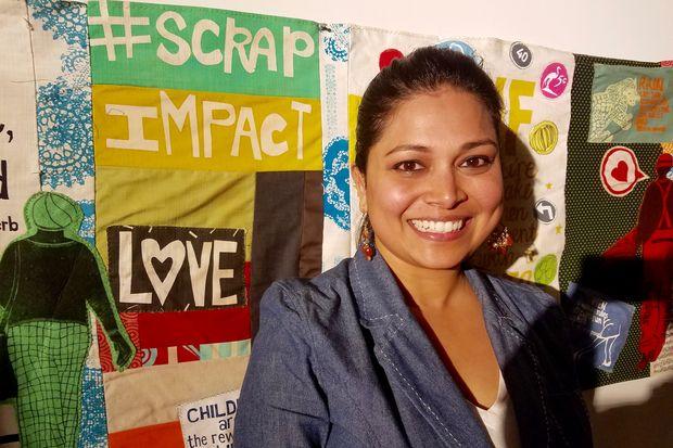 Wells Community Academy Principal Rita Raichoudhuri.