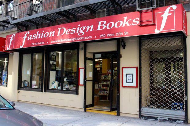 Fashion Design Books at 250 W. 27th St., near Eighth Avenue.