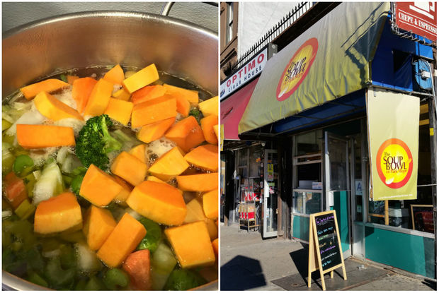 The Soup Bowl of Park Slope opened Oct. 14, 2016 in the seasonal spot it shares with the Uncle Louie G's ice cream stand on Seventh Avenue and Ninth Street.