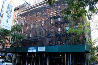 Applications for nine SRO apartments at 330 W. 51st St. opened Wednesday.