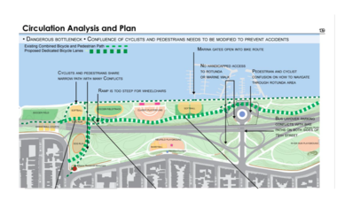 The Parks Department is planning a new bike lane east of the existing one in Riverside Park.