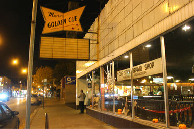 Pressure Billiards owner Wahib Merchant is in the process of purchasing Marie's Golden Cue, 3241 W. Montrose Ave., with a goal of reopening in early 2017 after extensive renovations, he told residents Tuesday night at a community meeting.