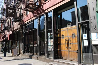 Rise Bar at 859 Ninth Ave., near West 56th Street.